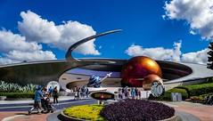 Walt Disney World - Epcot (Patrik S.) Tags: wolken clouds florida sonnig sunny usa walt orlando disney world epcot