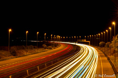 298/366 Rush Hour (crezzy1976) Tags: nikon d3300 crezzy1976 photographybyneilcresswell photoaday 365 366challenge2016 day298 outdoors afterdarkphotography nightphotography lighttrails lights travel rushhour
