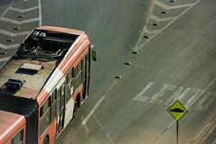 Transantiago - Gran Viale - Volvo B9 (benjalecaros) Tags: bus transantiago volvo b9 marcopolo gran viale express alsacia 430 406 street chile santiago las condes vitacura canon 400d rebel xti sigma