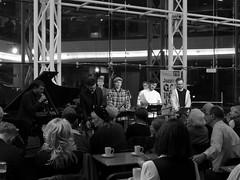 David Ferris Septet. Jazzlines. Symphony Hall. 28 Oct '16.  P1560285 (Imagine Bill) Tags: davidferris richardfoote davidferrisseptet daveferrisseptet symphonyhallbirmingham birminghamsymphonyhall westmidlands birminghamjazz jazzlines birmingham daveferris jencoley stuartbarker