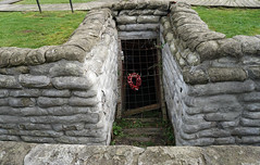 Yorkshire Trench & Dug-out, Ypres (surreyblonde) Tags: 19141918 greatwar ypres somme passchendaele langemark railywaywood battlefield trenches bombardment gas attack war belgium british canadian commonwealth german germany boezinge yorkshiretrench dugout trench soldiers memorials rememberance ieper iepers flanders poppies remembrance inflandersfields ww1
