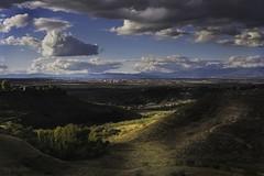 De Sanse al cielo (invesado) Tags: campos de paracuellossansebastián los reyesluces nubescielosigma 1750nikond7100