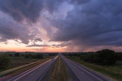 Iowa Warping (Ken Krach Photography) Tags: highway iowa