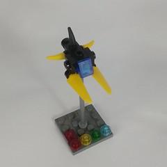 IO Viper (Vitor O S Faria) Tags: novvember nnovvember vicviper viper starfighter fighter spaceship starship mobileframezero interceptorbit io lego