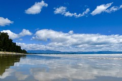 Rabbit Island (Henrico Prins) Tags: rabbitisland tasman mapua newzealand beach tasmanbay