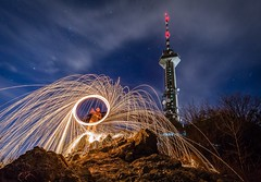 Fancy some light painting?!?!? Night Long Exposure Illuminated Sky Motion Outdoors Wire Wool Sofia Sofia, Bulgaria Tower Radio Tower TV Tower Circle Flare Sparks Beautiful Wide Shot Wide Angle Starry Night Starry Sky Kopitoto (Nick Pandev) Tags: night longexposure illuminated sky motion outdoors wirewool sofia bulgaria tower radiotower tvtower circle flare sparks beautiful wideshot wideangle starrynight starrysky kopitoto