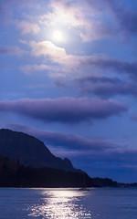 Full Moon (Lace Photos www.lacephotos.com) Tags: kauai hawaii hanalei moon fullmoon