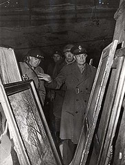 #General Dwight D. Eisenhower inspects art treasures looted by the Germans and stored in the depths of a salt mine in Germany along with gold, silver, and paper currency-April 12, 1945 [219x289] #history #retro #vintage #dh #HistoryPorn http://ift.tt/2g1s (Histolines) Tags: histolines history timeline retro vinatage general dwight d eisenhower inspects art treasures looted by germans stored depths salt mine germany along with gold silver paper currencyapril 12 1945 219x289 vintage dh historyporn httpifttt2g1swbz