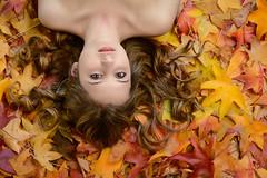 Autumn 2016 (Aglioni Simone) Tags: foliage girl portrait beauty autumn cto gel strobist lampista