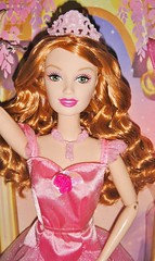 2006 Barbie in the 12 Dancing Princesses Princess Fallon Doll (5) (Paul BarbieTemptation) Tags: barbie 12 dancing princesses princess doll brothers grimm fallon ballet ballerina drew lara