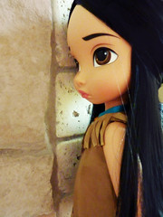 Disney Animators - Pocahontas (Sara.C~) Tags: disney animators belle snowhite biancaneve pocahontas ariel mermaid littler animator doll dolls collector