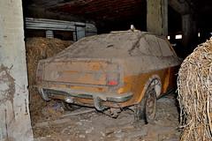 fiat 128 sport SL (riccardo nassisi) Tags: auto abbandonata abandoned car wreck rust rusty relitto rottame ruggine ruins epave fiat 128 fornace pavia relitti rottami abbandono