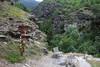 Auf dem Goldrainer Panoramaweg (uwelino) Tags: italien italy südtirol alpen alps altoadige adventure wandern 2016 sommer vinschgau latsch goldrain höhenweg wegweiser