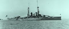 USS Texas ca1916 LOC07582u (SSAVE w/ over 6.5 MILLION views THX) Tags: ship battleship usnavy hamptonroads chesapeak ww1 worldwari
