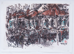 Anthony Chua - Lively Hood (Ode To Art) Tags: singapore urban shophouse town lively bustling art ink chinese anthonychua