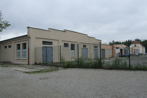 Factory buildings of the Dachau concentration camp, 06.07.2012.