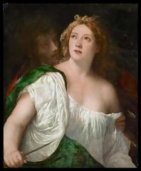 Lucrezia and her husband Lucius Tarquinius Collatinus (lluisribesmateu1969) Tags: 16thcentury titian onview kunsthistorischesmuseumwien vienna