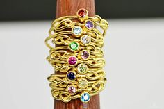 14k Gold Filled Infi (alaridesign) Tags: 14k gold filled infinity ring stackable rings mother birthstone knot solitare goldknotring solitairering mothersring goldband motherring stackring alari infinityring 14kgoldfilledring thingoldring
