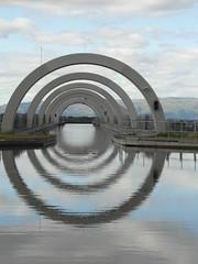 Wheel ahead! (bryanilona) Tags: reflections scotland canal falkirk damncool falkirkwheel citrit