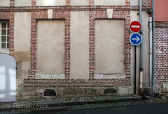 France 2015 (Richard Mills) Tags: windows signs wall pair bricked frenchwindows3