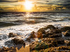 On the Rocks (DonMiller_ToGo) Tags: sunset gulfofmexico nature clouds landscape rocks waves seascapes florida sunsets beachlife g5 beaches hdr goldenhour 5xp hdrphotography 5exposures beachphotography myflorida sunsetmadness sunsetsniper caspersensbeach