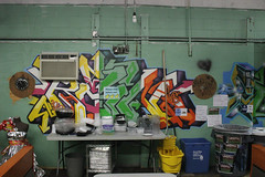 Rain (NJphotograffer) Tags: new rain graffiti nj jersey styles graff vicious trenton uat sfb terracycle