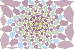 Polygon Party 17 (Leonardo Solaas) Tags: abstract geometric pattern drawing computergenerated symmetry generative tessellation polygons voronoi actionscript algorithmic as3