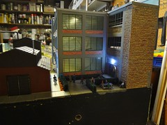 St. Lambert (Larry the Lens) Tags: yard cn via henderson southwark smileys module watermans stlambert hoscale hotrak protechplastics