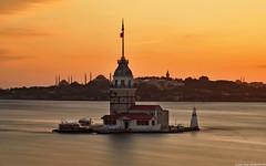 375 - Istanbul in brief (Ata Foto Grup) Tags: longexposure sea tower turkey exposure türkiye istanbul deniz maiden kızkulesi maidentower uzunpozlama uzun pozlama