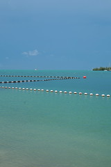 Ocean view from Simonton Street Beach, Key West
