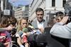 Reunión de Pedro Sánchez con Lilian Tintori, esposa de Leopoldo López (Partido Socialista) Tags: seleccionar