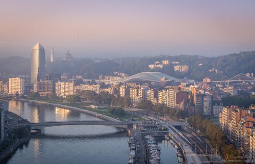 Liège au petit matin...