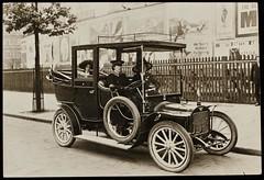 Vera Holme as WSPU Chauffeur, c. 1910