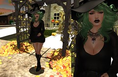 #Look 1182 Witch and Sweet (shirleyansari) Tags: pink look sweet witch acid style second emporium poses rl shey magika punci 1182 overlow dirtystories