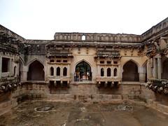 Vitthala Temple -Queens Bath - Hampi World Heritage Complex   (6) (pensivelaw1) Tags: india hampi queensbath vitthalatemple hampiworldheritagecomplex