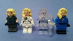 LEGO Invisible Woman (Wade1Wilson) Tags: lego fantastic4 invisiblewoman suestorm