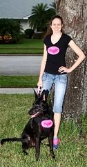 Happy Halloween! (Jek Hawkins) Tags: halloween batgirl batdog batpup