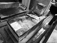 Geta Taros Grave (Carlos Poveda Fotografia) Tags: paris grave filmcamera perelachaise robertcapa filmisnotdead gerdataro