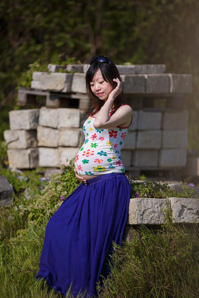 孕婦寫真,孕婦攝影,樹林孕婦,芒草孕婦,草原孕婦,Ajax&Far129