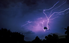 Lightning (Locke Nicholls) Tags: longexposure sky cloud storm night outdoors long exposure australia brisbane queensland lightning thunder