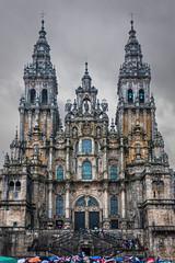 Catedral de Santiago de Compostela (Vicente Galocha) Tags: santiago espaa de spain corua espanha europa europe galicia lugares santiagodecompostela compostela es taichi espagne actividades seminario acorua a