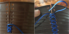 Lixo costurado (super_ziper) Tags: original handmade craft lixo vela projeto reciclagem plástico bordado costura reflexão pontocruz inspiração arrumar ideia versão reaproveitamento prática conserto superziper sovela