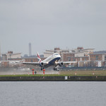 "British Airways Embraer ERJ-190 takeoff<a href=""http://www.flickr.com/photos/28211982@N07/23245768204/"" target=""_blank"">View on Flickr</a>"