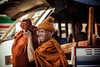 Thailand - Monk (Cyrielle Beaubois) Tags: old city travel thailand asia monk thaïlande wanderlust southeast sukhothai 2015 canonef70200mmf40lusm canoneos5dmarkii cyriellebeaubois