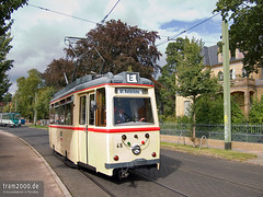 Potsdam (D) (Robert Leichsenring) Tags: tram lowa streetcar tramway potsdam rostock strassenbahn tramwaj strasenbahn museumswagen