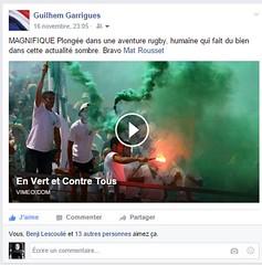 Publication Guilhem Garrigues