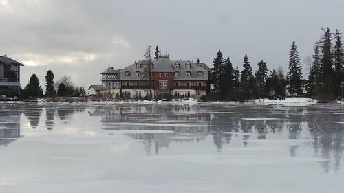 Lac de Strbské Pleso, Slovaquie