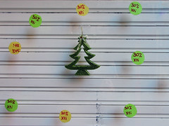 poor little christmas... tree (maximorgana) Tags: green yellow christmastree shutter fir percentage