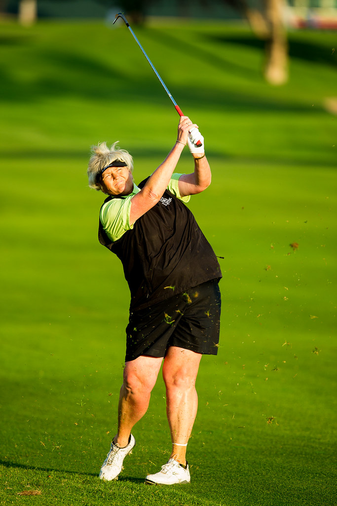Laura Davies in Dubai