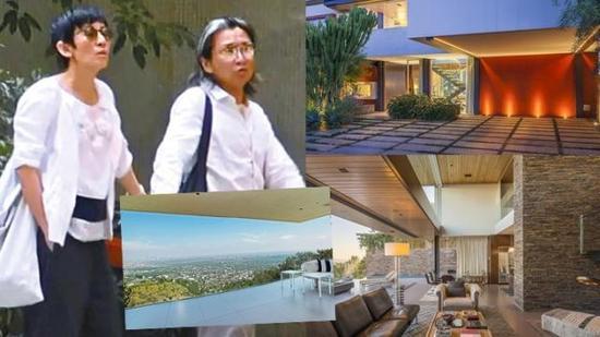 陈可辛被曝4000万出售美国豪宅 年赚600万